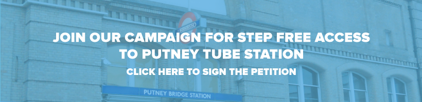 Campaign for step free access to Putney Tube Station