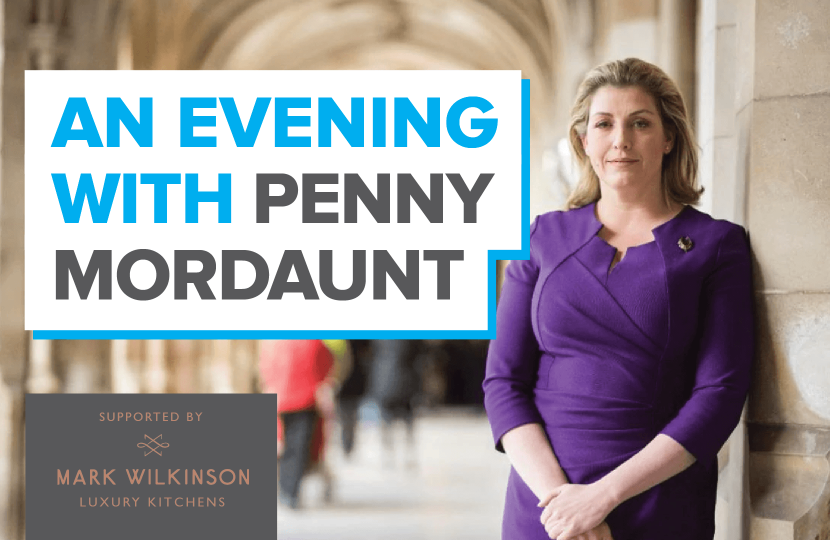 The Rt Hon Penny Mordaunt MP